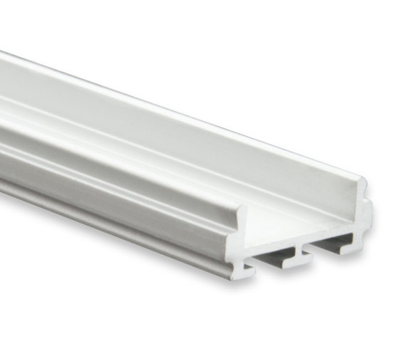 PL6 series | PL6 LED CONSTRUCTION profile 200 cm, flat by Galaxy Profiles | Profiles