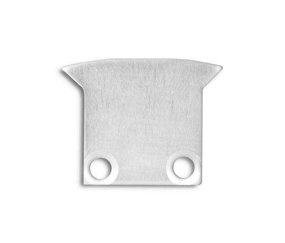 PL8 series | End cap E27 aluminium by Galaxy Profiles