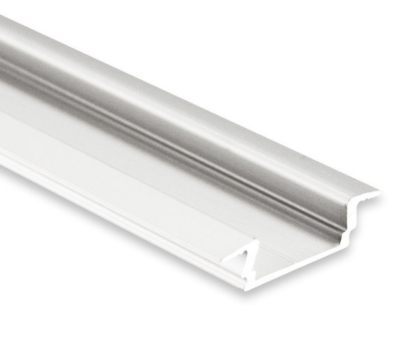 PL8 series | PL8 LED INSTALLATION profile 200 cm, flat / wing by Galaxy Profiles | Profiles