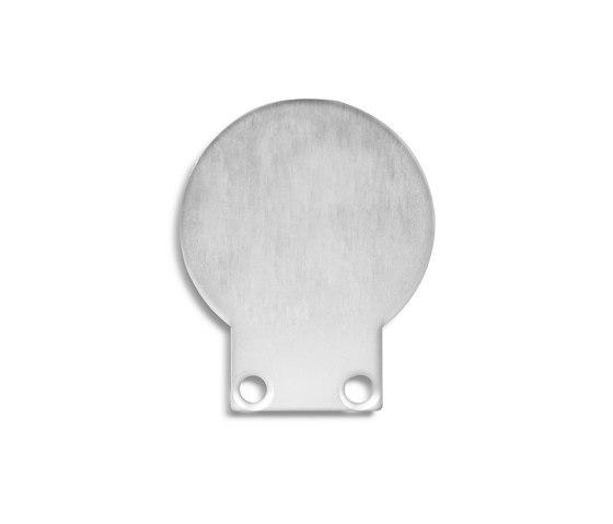 PL9 series   End cap E30 aluminium by Galaxy Profiles