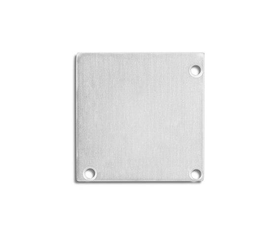 PN19 series | End cap E52 aluminium by Galaxy Profiles