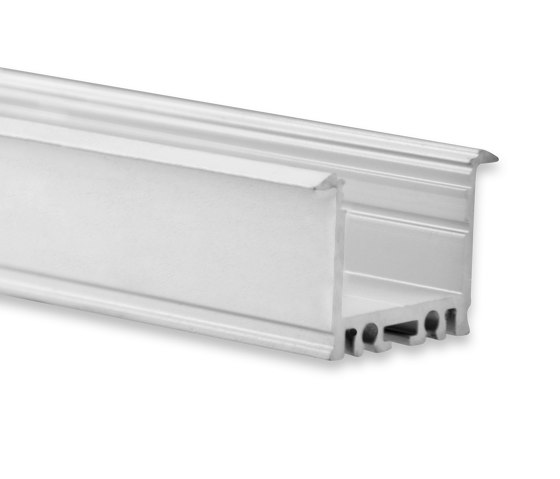PN21 series | PN21 LED INSTALLATION profile 200 cm, high/wings by Galaxy Profiles | Profiles