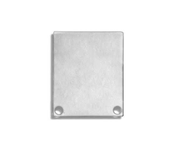 PN5 series   End cap E44 aluminium by Galaxy Profiles