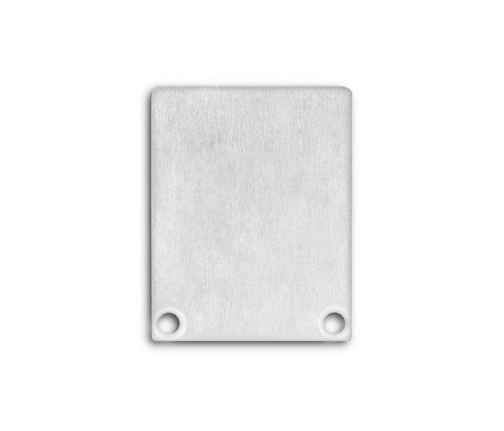 PN5 series | End cap E45 aluminium by Galaxy Profiles