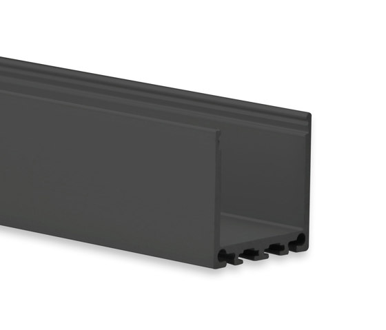PN6 Serie | PN6 LED AUFBAU-Profil 200 cm, hoch von Galaxy Profiles | Profile