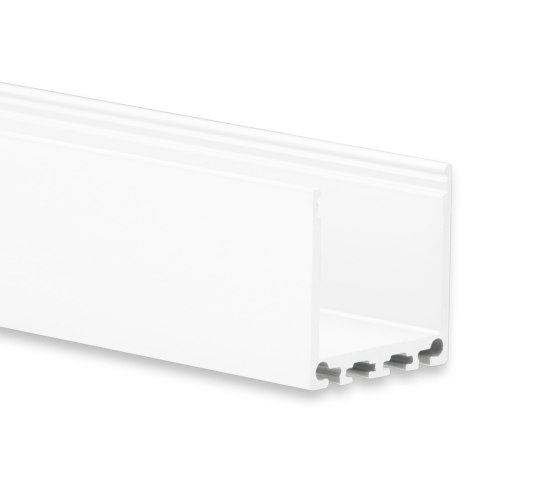 PN6 series | PN6 LED CONSTRUCTION PROFILE 200 cm, high by Galaxy Profiles | Profiles