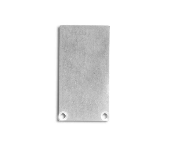 PN7 series | End cap E49 aluminium by Galaxy Profiles