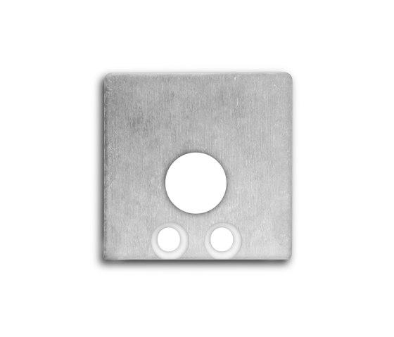 PN8 series | End cap E59 aluminium by Galaxy Profiles