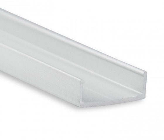 PN8 series | PL10.1 LED CONSTRUCTION / ASSEMBLY profile 200 cm, flat by Galaxy Profiles | Profiles