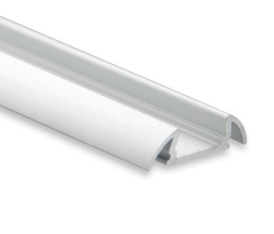 PO17 Serie | PO17 LED AUFBAU-Profil 200 cm, ultraflach/Flügel von Galaxy Profiles | Profile