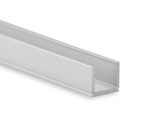 PO18 series | PO18 LED CONSTRUCTION profile 200 cm, ultra-mini by Galaxy Profiles | Profiles
