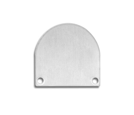 TBP5 series | End cap E46 aluminium by Galaxy Profiles