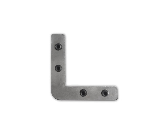 Accessories | Corner connector Z13 for profile PN4, PN5, PN6, PN7, PL6, 90 °, set of 4 by Galaxy Profiles