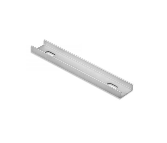 Accessories | PL10.1 LED CONSTRUCTION / MOUNTING profile 10 cm, flat, drilled by Galaxy Profiles