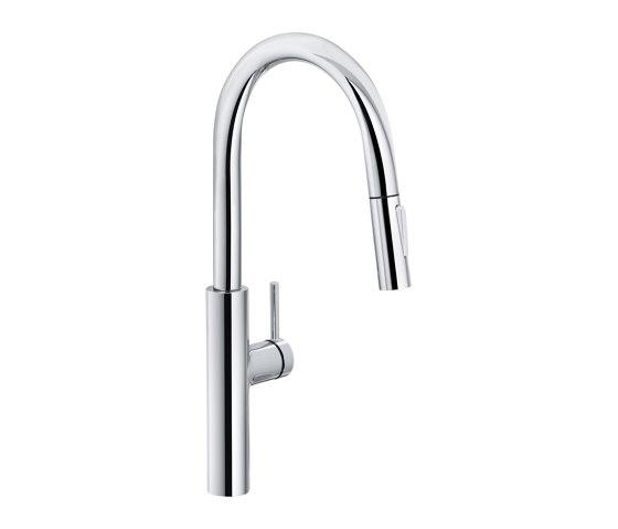 Pescara Tap Pull Down Spray U Spout Chrome by Franke Kitchen Systems | Kitchen taps
