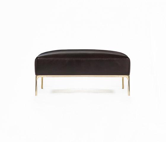 Horizontal Sofa di Time & Style   Pouf
