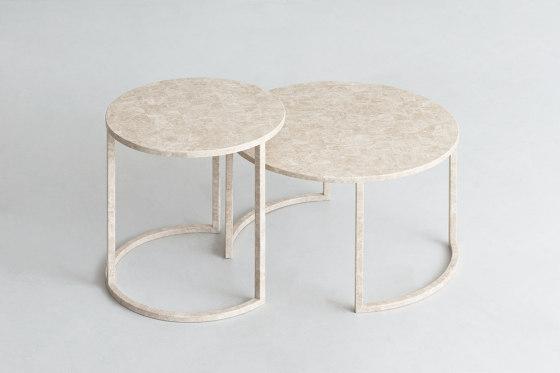 BK | Round Coffee Tables de By interiors inc. | Mesas de centro