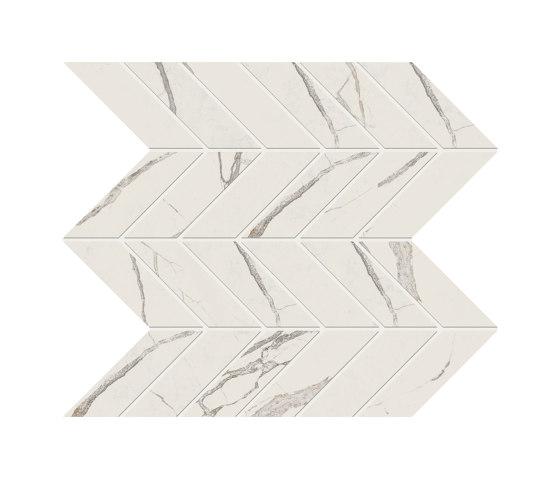 Foyer   Clear Tessere Chevron by Marca Corona   Ceramic tiles