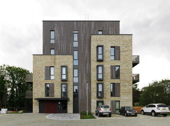 öko skin | Residence Caledonian Road by Rieder | Facade systems