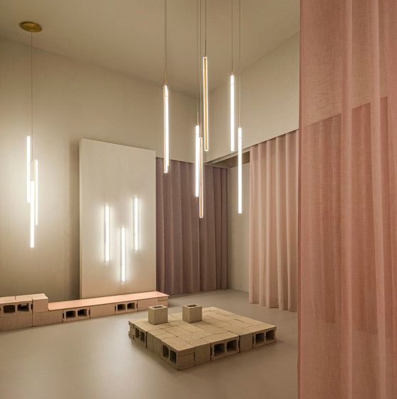 Halo Jewel 2356 Hanging lamp by Vibia | Suspended lights