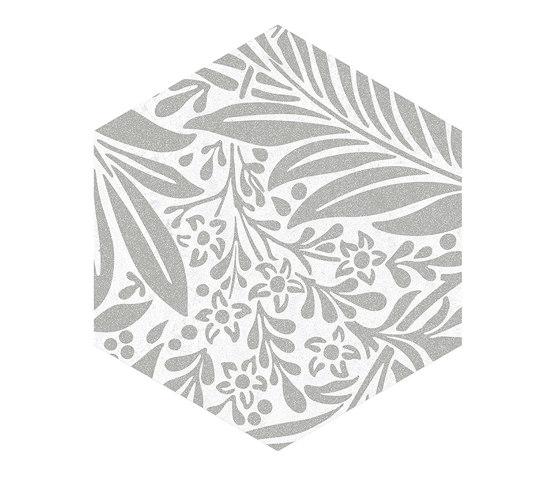 Seine | Hexágono Duroc Multicolor Blanco de VIVES Cerámica | Carrelage céramique