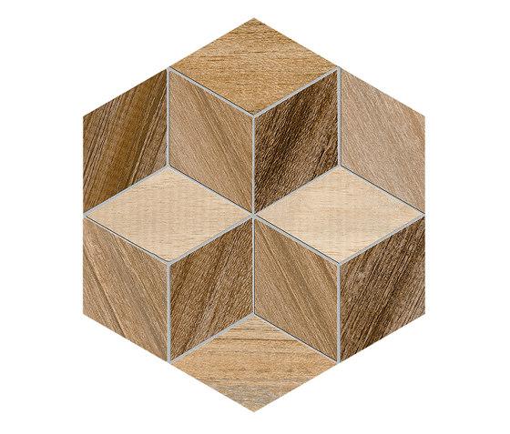 Seine | Hexágono Freret Multicolo de VIVES Cerámica | Carrelage céramique