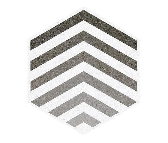 Seine   Hexágono Lacroix Gris by VIVES Cerámica   Ceramic tiles