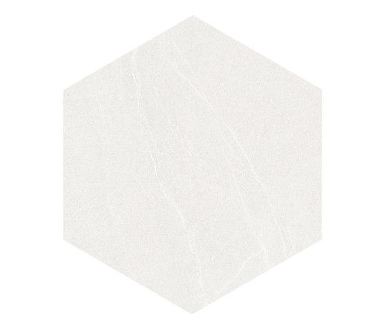 Seine | Hexágono Seine Blanco von VIVES Cerámica | Keramik Fliesen