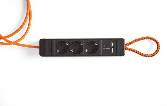 Flex Power Hanger by Steelcase | Schuko sockets
