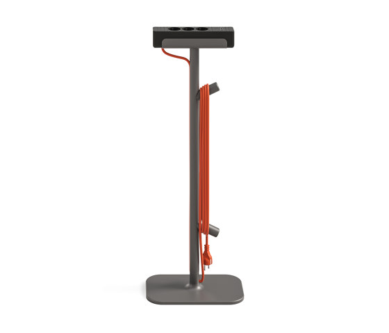 Flex Power Stand by Steelcase   Schuko sockets