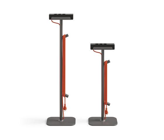 Flex Power Stand by Steelcase | Schuko sockets