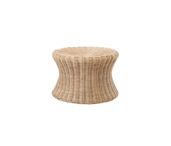 Mushroom stool small, Rattan natural von Eero Aarnio Originals | Beistelltische