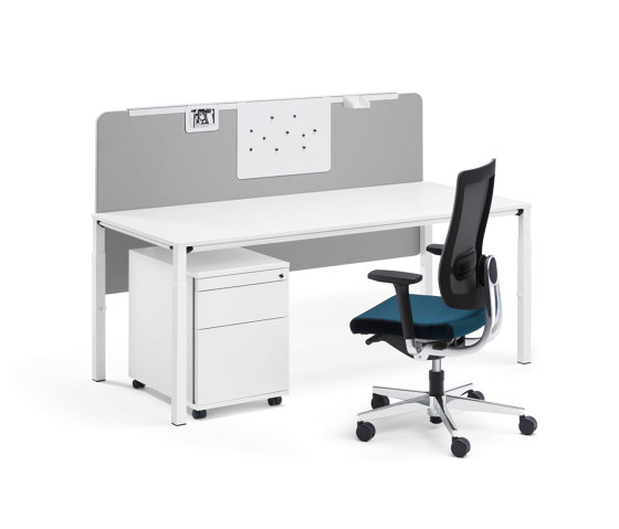 easy screen de Sedus Stoll | Sistemas de mesas fonoabsorbentes