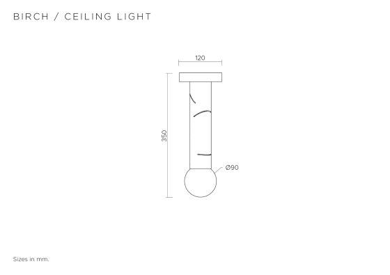 Birch 438OL-C01 by Atelier Areti | Suspended lights