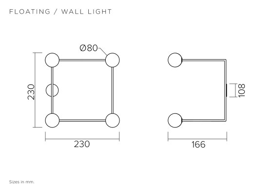 Floating 551OL-W01 by Atelier Areti | Wall lights