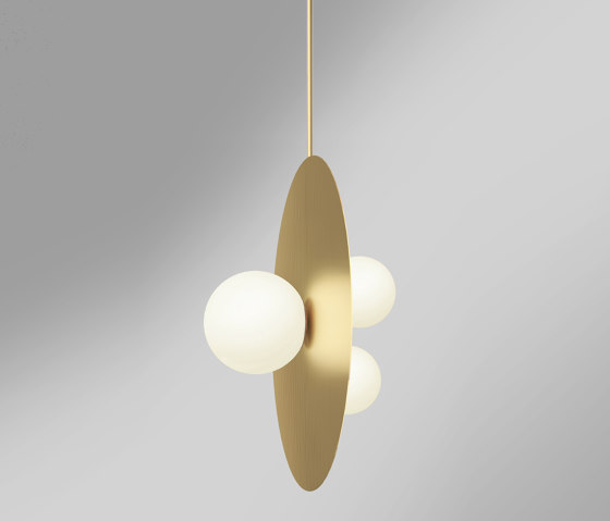 Plates and spheres 403OL-P01 by Atelier Areti | Suspended lights