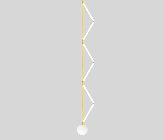 Side triangle 426OL-P01 by Atelier Areti | Suspended lights
