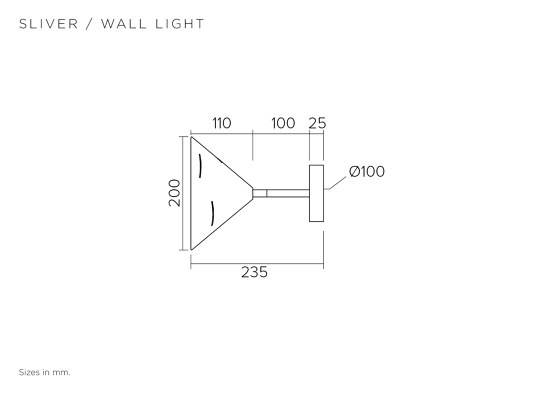 Sliver 325OL-W01 by Atelier Areti | Wall lights