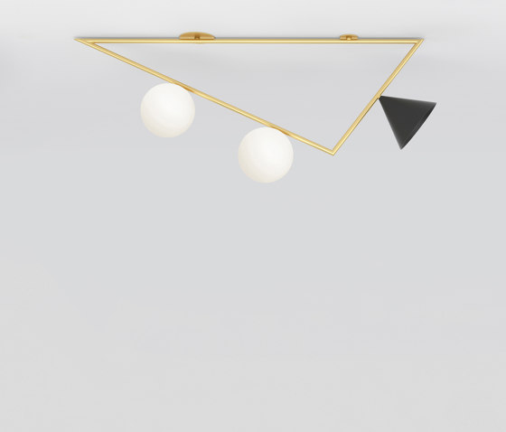 Triangle girlande 385OL-C05 by Atelier Areti | Ceiling lights