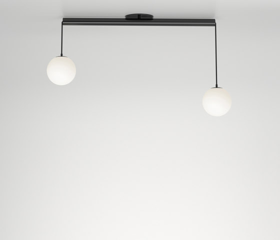 Tube with globes 331OL-C01 by Atelier Areti | Ceiling lights