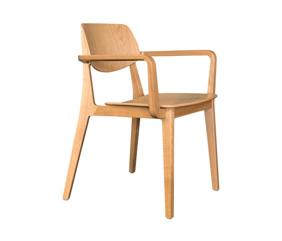 Felber C14 Wood 4ft with armrest by Dietiker | Chairs