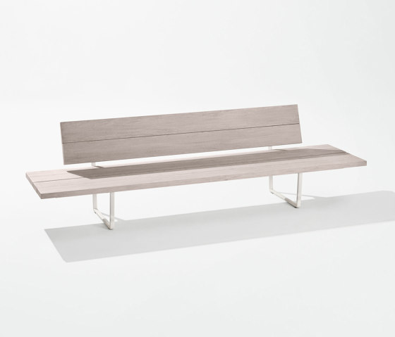 Orizon lounge sofa with side tables by Fast | Benches