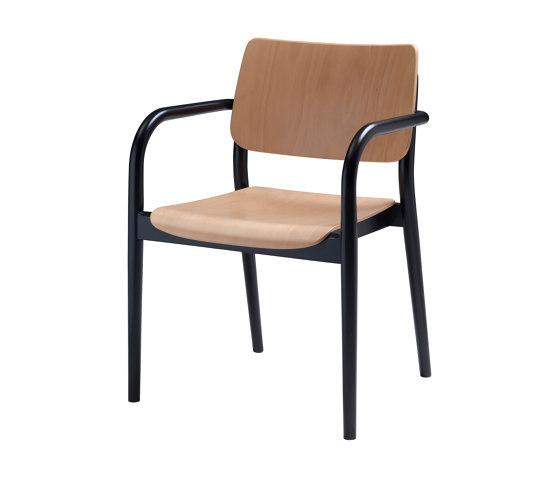 Viena Armlehnholzstuhl by seledue | Chairs