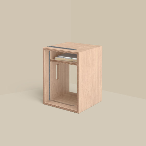 Cube – Whiteboard Stand and Stool by Studiotools   Privacy screen