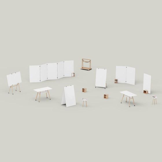 Design Thinking Whiteboard Set Team by Studiotools   Storage boxes