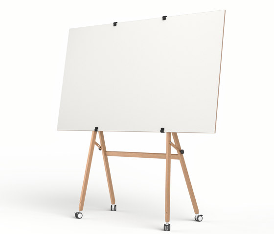 Easel on wheels by Studiotools   Flip charts / Writing boards