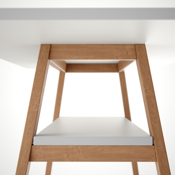 Standing Table on gliders by Studiotools | Standing tables