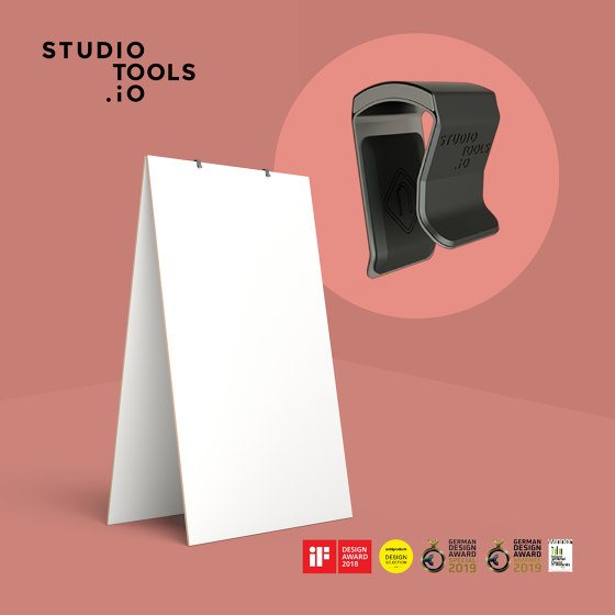 Magnetic Clips  – Whiteboard Connector by Studiotools | Privacy screen