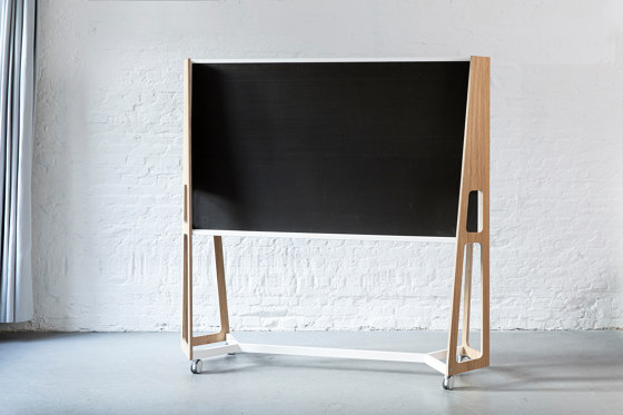 Frame with panel by Artis Space Systems GmbH   Privacy screen