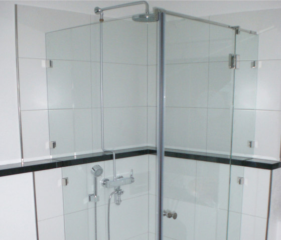 Eckdusche 90X90 by glasprofi24 | Shower screens